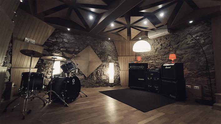 Aemme Recording Studios stone room